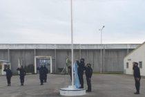 Agentes de la Unidad 17 conmemoraron el Día de la Bandera