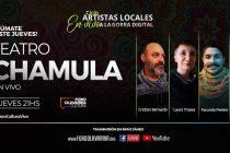 """Dos microhistorias de Teatro Chamula en el ciclo """"Artistas locales a la Gorra Digital"""""""