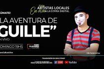 """Este domingo sigue el ciclo """"Artistas locales a la Gorra Digital"""" con """"La aventura de Guille"""""""