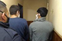 Detuvieron a dos hombres por robar en una vivienda