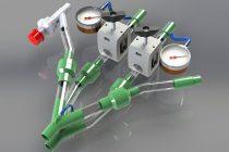 Científicos Argentinos crearon un dispositivo para que dos pacientes usen un mismo respirador de manera segura