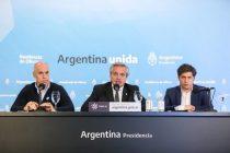 Alberto Fernández anunciará al mediodía la próxima etapa de la cuarentena con Kicillof y Larreta