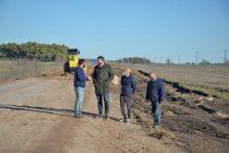 El Municipio continúa el mejoramiento de caminos rurales