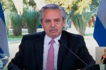 Fernández: «Mientras haya Pandemia, el IFE continuará»