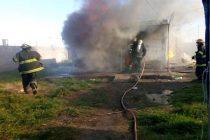 Este lunes se incendió una vivienda y necesitan ayuda
