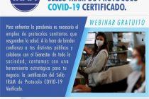 Charla informativa para sello Iram de protocolo Covid-19
