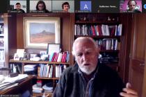 Se realizó una charla virtual con el Dr. Ricardo Gil Lavedra