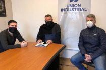 Federico Aguilera se reunió con la Unión Industrial