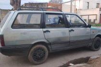 Un choque en Azul permitió secuestrar un auto robado en nuestra ciudad
