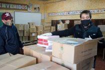 Olavarría recibió material pedagógico del plan FINES