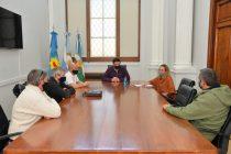 Ezequiel Galli se reunió con representantes de la Mesa Agropecuaria