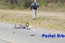 Murió uno de los ciclistas que fue arrollado por una camioneta