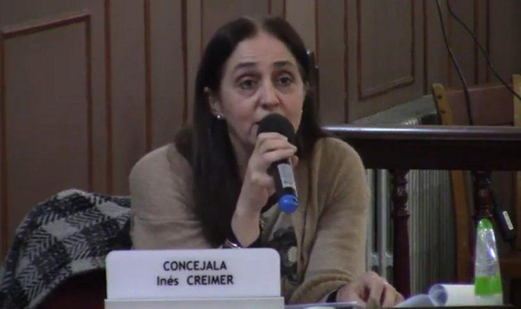 Ines Cremier sobre la actividad