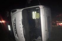 Pehuajó: Un Olavarriense herido en un vuelco sobre ruta 5