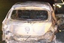 Volcó y se incendio un auto donde viajaba una policía de Olavarría