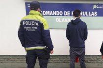 Se da a la fuga, amenaza a los policías y termina aprehendido