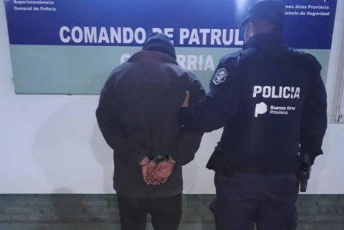 Aprehensión: Un hombre terminó en la comisaría tras golpear a una mujer