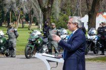 Fernández presentó el Programa de Fortalecimiento de Seguridad: «Seremos implacables, con el Código Penal en la mano»