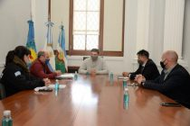 Ezequiel Galli se reunió con representantes del Ministerio de Seguridad bonaerense