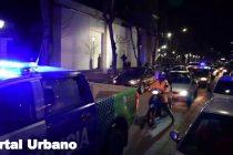 Video de la impactante protesta de la policía bonaerense en la ciudad