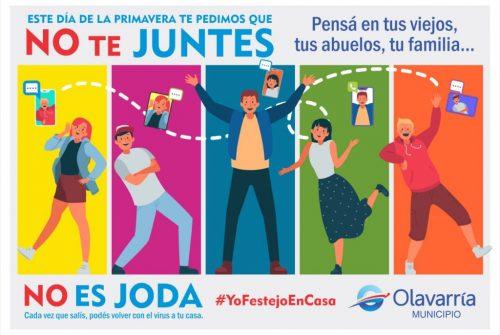 #YoFestejoEnCasa: la propuesta del municipio para el Día de la Primavera