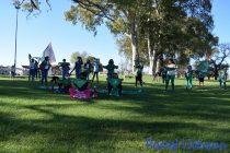 Este lunes se realizó la caminata verde en el Parque