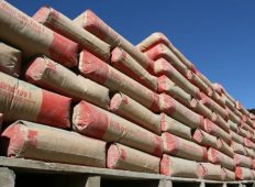 Subieron 6,4 % los despachos de cemento durante agosto