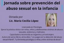 Harán una capacitación sobre prevención del abuso sexual en la infancia