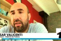 """César Valicenti: """"La sanción de la ley de Góndolas es importante para pensar la producción y discutir la cadena de comercialización de los alimentos"""""""