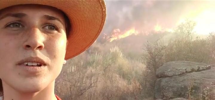 Argentina en llamas