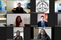 Cuarta jura virtual del Colegio de Abogados Departamental de Azul