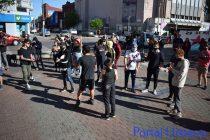 Se realizó la marcha en contra del  «abuso policial» este martes