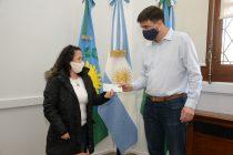 Este jueves Olavarrienses emprendedores recibieron créditos CONAMI