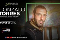 """Gonzalo Torres despide la tercera temporada del ciclo """"Artistas locales a la gorra digital"""""""