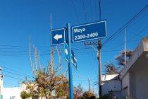 Seguridad vial: Continúan con el mantenimiento de señalética