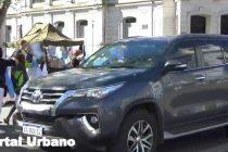 Videos de la Movilización y banderazo en Olavarría