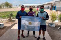 Internos de la Unidad Penal de Sierra Chica hicieron una Maratón solidaria