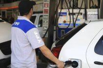 Combustibles: YPF sube los precios 2,5% a partir de hoy