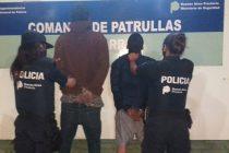 Robaron elementos de un obrador, forcejearon con la policía y los detuvieron
