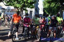 Ciclistas hicieron la caravana para pedir seguridad