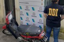 Recuperaron la moto que le habían robado a un trabajador