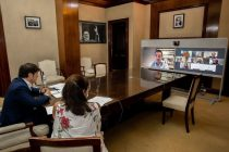 Teresa García acusó a los jefes comunales de JxC de hacer «politiquería»