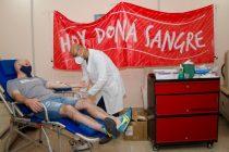 Se realizó con éxito la campaña de donación de sangre en el Hospital de Oncología