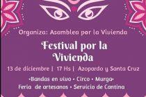 Este domingo habrá un festival de la Asamblea por la vivienda