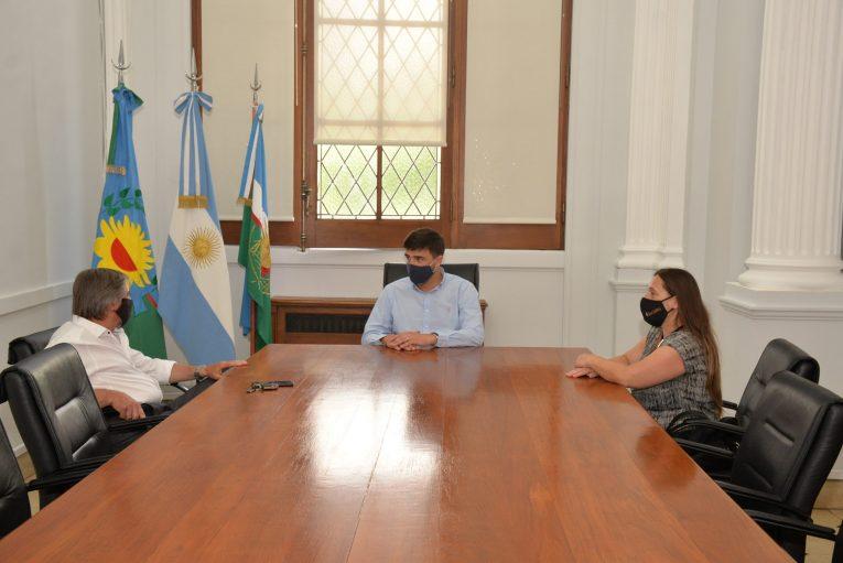 Galli con representantes