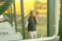 Macri arribó a Tandil con un grupo de amigos en una salida de golf