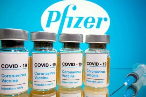 Llegaron vacunas de Pfizer a nuestra ciudad este jueves