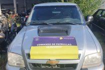 Secuestran una camioneta sin papeles y con pedido de captura