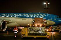 Sputnik V: Partió de Moscú el avión de Aerolíneas Argentinas