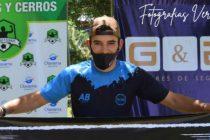 Juan Huertas se quedo con el Torneo de Footgolf